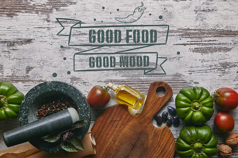 Good mood from Food