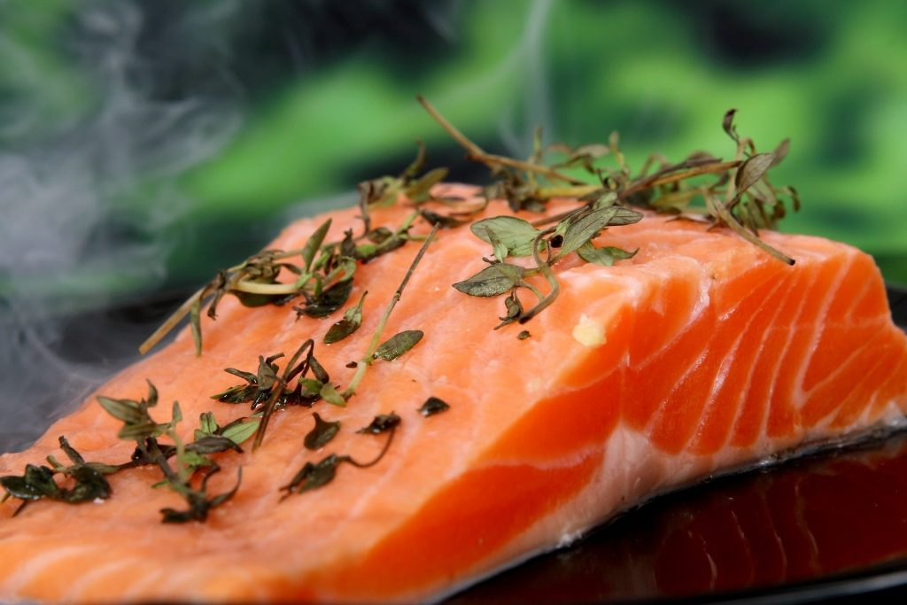 Salmon help mood