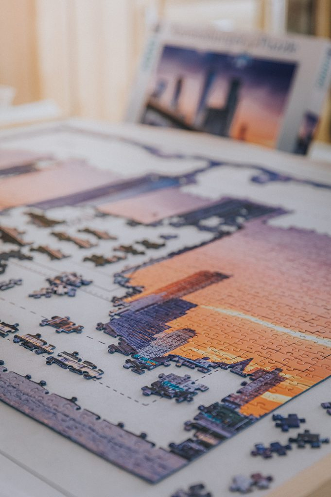 Jigsaw Puzzle Hobby, reducing stress