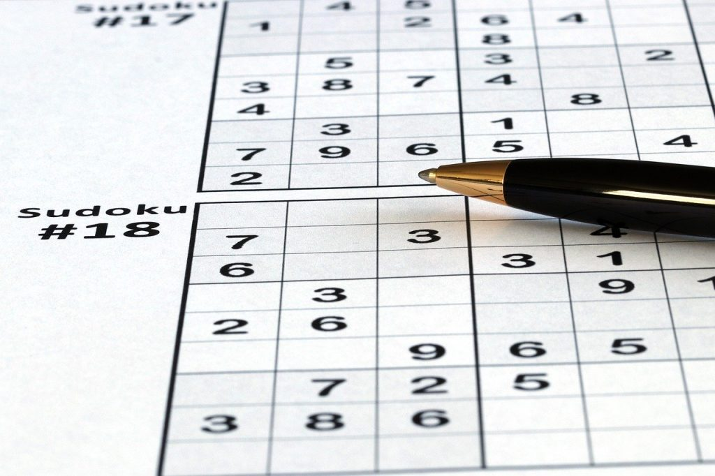 Sudoku  brain exercise